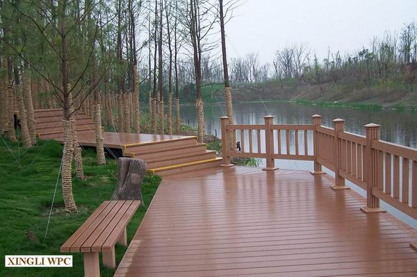 Wood & Plastic Composite (WPC)-Outdoor Flooring